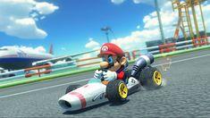 "Mario Kart 8 DLC and ""B Dash"" Footage, Wii U"