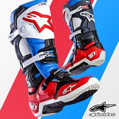 The 'Bomber' Tech 10 offers unrivaled race-winning performance to motocross riders who demand nothing less than the best. The Limited Edition 'Bomber' Tech 10 fuses all the performance innovations of the iconic Tech 10 with an exclusive, limited production color combination. The result, a premium performance motocross boot with timelessly designed aesthetics.   #Bomber #Tech10 #Alpinestars #RaceGoods #OffRoadRacing #Onlineshopping #Onlinestore #Actionsports #Extremesports #MotoLife…