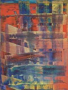 Gerhard Richter. Tableau abstrait.  1992. Catalogue Raisonné: 761-1. http://www.gerhard-richter.com/art/paintings/abstracts/detail.php?paintid=7899#