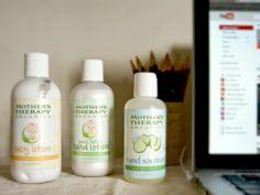 Mother's Therapy Organics product line -- livingmividaloca.com