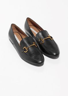 & Other Stories image 2 of Horsebit Buckle Loafers in Black
