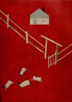 Theodor Pevzner, illustrazioni per Animal Farm, di Yevgeny Shvarts, 1931