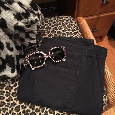 Ann Taylor jeans Ann Taylor dark wash jeans curvy straight leg. Cotton spandex Ann Taylor Pants Straight Leg
