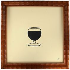 Fernando Boher Collection: Glass of Wine