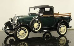 Bradley Pickup Truck   Impeccably Restored 1928 Ford Model A Roadster Pickup Truck