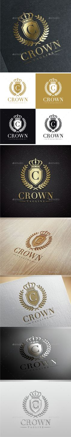 Crown Luxury Letter C Logo — Photoshop PSD #majesty #castle • Available here → https://graphicriver.net/item/crown-luxury-letter-c-logo/9603174?ref=pxcr
