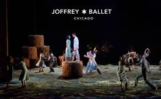 The Joffrey Ballet   Midsummer Night's Dream   Photo of Jeraldine Mendoza, Greig Matthews, and ensemble by Cheryl Mann