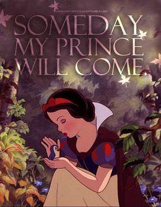 Someday, my prince will come - Snow White and the Seven Dwarfs Disney Love, Disney Magic, Disney Art, Disney Films, Disney Pixar, Walt Disney, Snow White 1937, Snow White Disney, I Love Snow