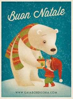 Gaia Bordicchia Illustrations: Buon Natale
