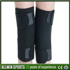 5e6843f1ba 1 Pair Elastic Charcoal Knee Support Brace Protection Health Fitness Sports  Gym #knee_support, #Health_Fitness