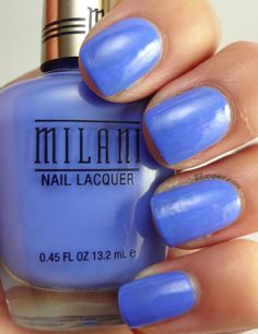 Milani Nail Lacquer in Power Periwinkle- Gold label line
