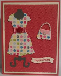 Stampin UP! All Dressed Up...