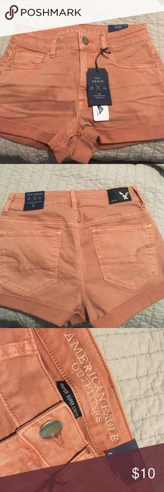 American Eagle Shorts Never worn before, has 3 small spots but barely noticeable. Make an offer! American Eagle Outfitters Shorts Jean Shorts