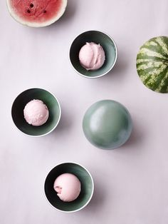 Recipe: WATERMELON AND COCONUT MILK ICE CREAM - Kinfolk