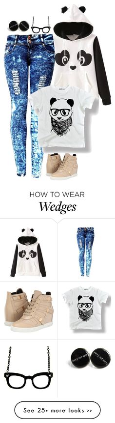 """I Want A Panda..."" by majezy on Polyvore"