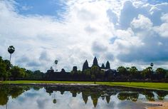 Angkor Wat is the best ancient ruins I have ever seen. The area is huge and magnificent. I am so impress with the sculptures, drawings, carvings inside the walls of the temples. I believe none of us complain walking around under the heat of the sun because the architecture, the view, is just so out of this world.