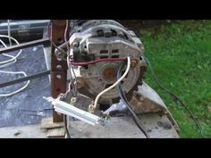 How to Build an Engine/Alternator Generator 2/2 Putting it Together - YouTube