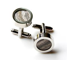 Special Beehive Cufflinks Set Gift Box Included by Mancornas, $85.00