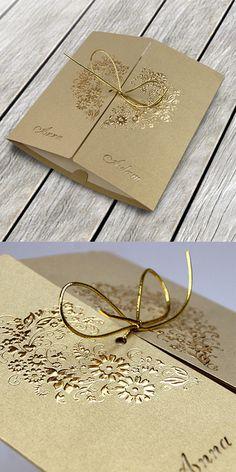 wedding cards, invitation, ribbon, lasser, design