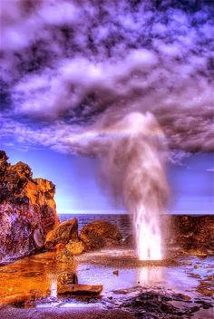 Nakalele Blow Hole Maui, Hawaii