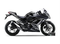 Decal Sticker Ninja 250 FI Hitam - Stiker Modifikasi Kawasaki Ninja 250 FI (Fuel Injection)Reviewed by Admin on Jun 6.Rating: