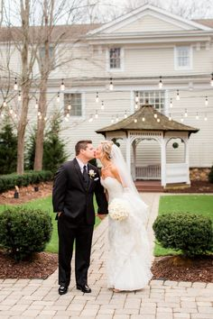 Olde Mill Inn Wedding | Bride and Groom Portrait | Basking Ridge, NJ | Photo by Idalia Photography