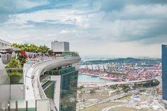 Marina Bay Sands - Skydeck - Shopping Mall - Riesenrad Ferris Wheel - Singapore…