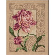 GRACEFUL TULIP Dimensions counted cross stitch kit RARE