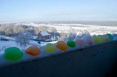 Разноцветное настроение продолжается. Разноцветные цветные ледяные шары.  Colorful mood continues. Colorful colored ice balls.  http://teamcreative.ru/blog/ledshar