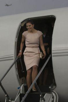 Crown Princess Victoria of Sweden visits Tanzania 3/19/2014.