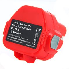 28.68$  Buy here - http://ai9ux.worlditems.win/all/product.php?id=32802495806 - 1 pc Rechargeable Battery for Makita 12V PA12 2000mAh Ni-CD Replacement Power Tool Battery for Makita 1220 1222 1233S 12 P34