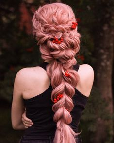 Pretty Hairstyles, Braided Hairstyles, Wedding Hairstyles, Bridesmaid Hairstyles, Hairstyles Videos, Fantasy Hairstyles, Modern Hairstyles, Box Braids Styling, Braids For Long Hair