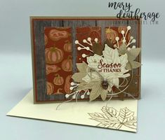Stampin' Up! Gather Together Gilded Autumn with Video Tutorial for The Paper Players | Stamps – n - Lingers