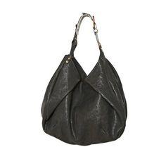 bcb50d63aff Balmain Amanda Smooth Leather Shoulder Bag found on Polyvore Leather  Shoulder Bag, Leather Bag,
