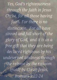 Romans 3:22-24