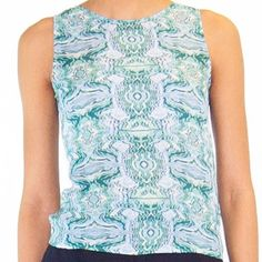 Kelly Wearstler Kelly Wearstler Silk-blend Top Kelly Wearstler Tops Camisoles