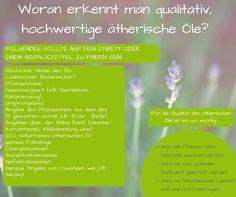 Einkaufshilfe für ätherische Öle Aromatherapy