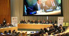 Al recibir presidencia CELAC en la ONU, canciller Navarro habla de desafíos regionales a tratar