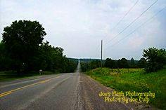 Shannonville Road on Tyendinaga Ontario