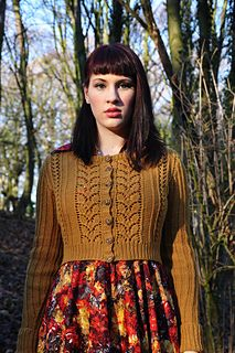 Lovely cardigan by Andi Satterlund Vintage Knitting, Lace Knitting, Knit Crochet, Cardigan Pattern, Knit Cardigan, Cropped Cardigan, Vintage Patterns, Knitting Patterns, How To Purl Knit
