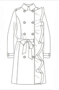 Jacket // technical flat