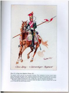 Duchy of Berg; 1st Lancers, Trooper 1813