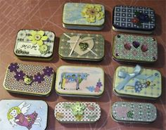 280 Best Altoid Tins Images Tin Cans Altered Tins Christmas