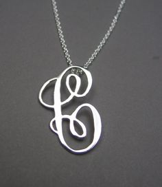 C...for Caitlin. (or Cameron. *wedding monogram)