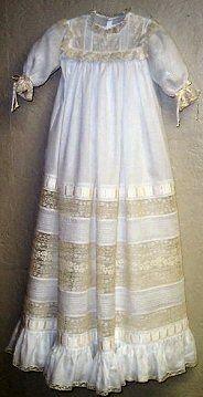 Laney Christening Gown - Elegant Heirloom by Mattie