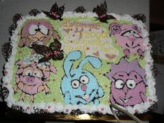 """Торт """"Смешарики"""" #торт_на_заказ_власовка #мульт_герои #бисквитный_торт"""