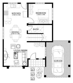 Modern house designs such as has 4 bedrooms, 2 baths and 1 garage stall. The floor plan features of this modern house design are, covered front porch, balcony over garage, walk-in clo… Two Story House Design, 2 Storey House Design, Village House Design, Small House Design, Modern House Design, Modern Houses, Two Storey House Plans, My House Plans, Philippines House Design