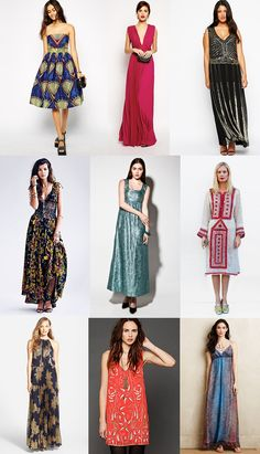 Patternful dress styles and how to wear them! | Via The Jungalow