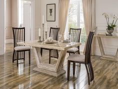 ELGIN DINING TABLE 1600 / Free UK delivery at www.mayfairhomefurniture.com