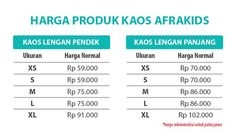 Bazar Afra - Jual Produk Afrakids 6285736071119